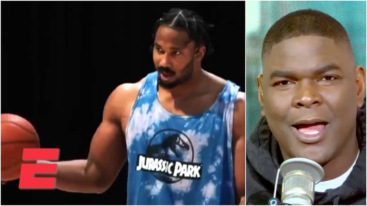 Reacting to Browns DE Myles Garrett's viral basketball video   KJZ
