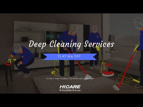 Deep Cleaning Services | HICARE!