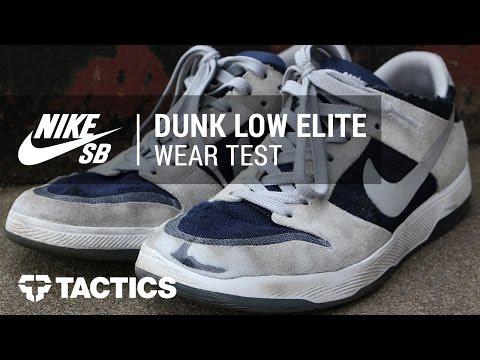Nike SB Zoom Dunk Low Elite Skate Shoes Wear Test Review - Tactics.com