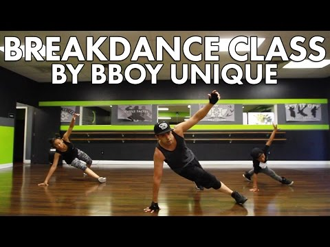 How to BreakDance class 01 | Bboy Unique | Top Rocks & Footwork