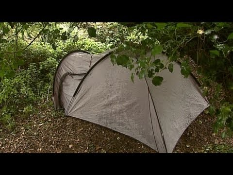 Galway student living in a tent