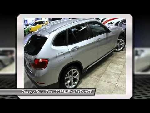 2014 BMW X1 sDrive28i Chicago Motor Cars