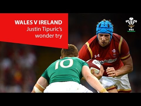 Justin Tipuric wonder try against Ireland | WRU TV