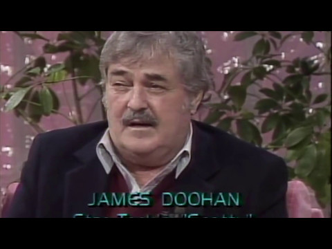 "Star Trek's James Doohan, Montgomery ""Scotty"" Scott."