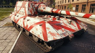Jagdpanzer E100 - 1 vs 5 - World of Tanks Gameplay