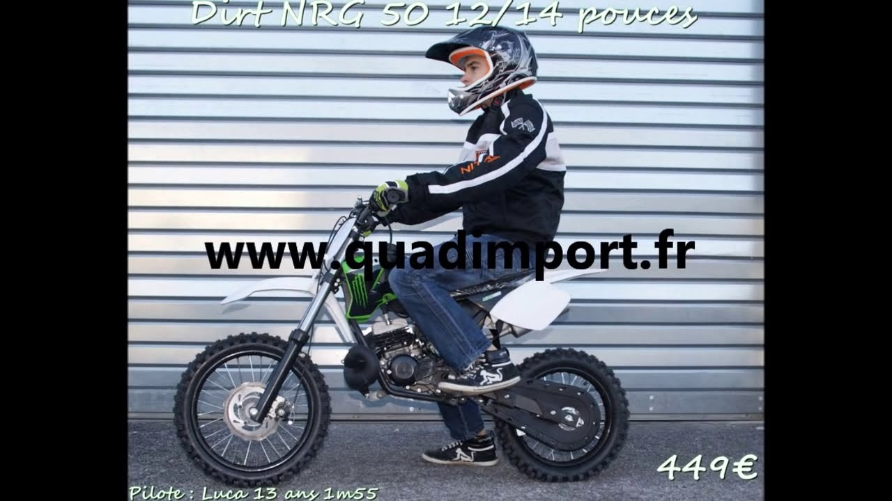 Dirt Bike Nrg 50 2 Temps