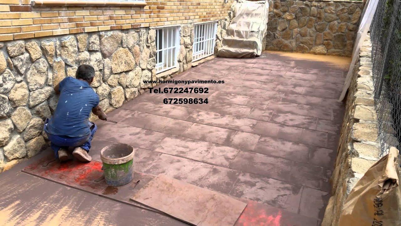 Obras casas particulares hormigon impreso retuerta del for Pisos baratos en ciudad real