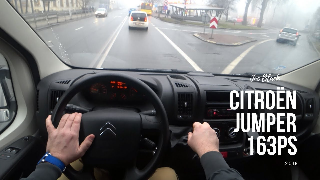 New Citroën Jumper  2.0 163  4K | POV Test Drive #035 Joe Black
