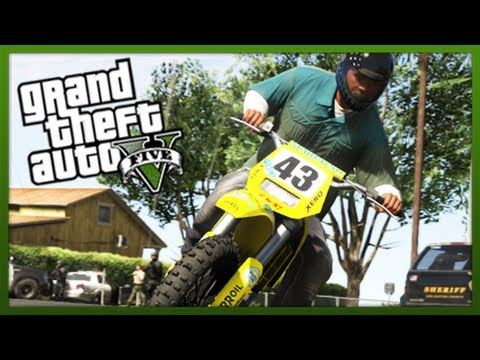 GTA 5 Stunts: Stunt Challenge! - (Episode 9) (GTA V Stunts & Tricks)