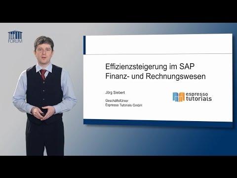 e-Learning: Effizienzsteigerung im SAP® Finanz- und Rechnungswesen (Trailer)