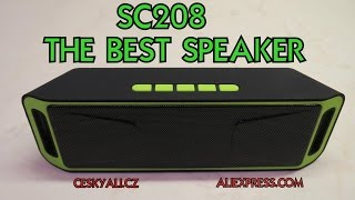 ►TEST SC208 - the best speaker → │Aliexpress česky│Unboxing - rozbalovačka│TEST│