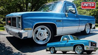 TEENAGER WORKS TO PAYOFF & BUILD HIS SQUAREBODY C10...before he even has a license?