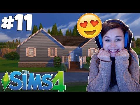 Ich habe ein Haus gebaut!! - Let's Play Die Sims 4 Part 11| simfinity