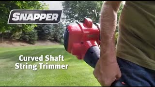 Snapper Curved Shaft String Trimmer