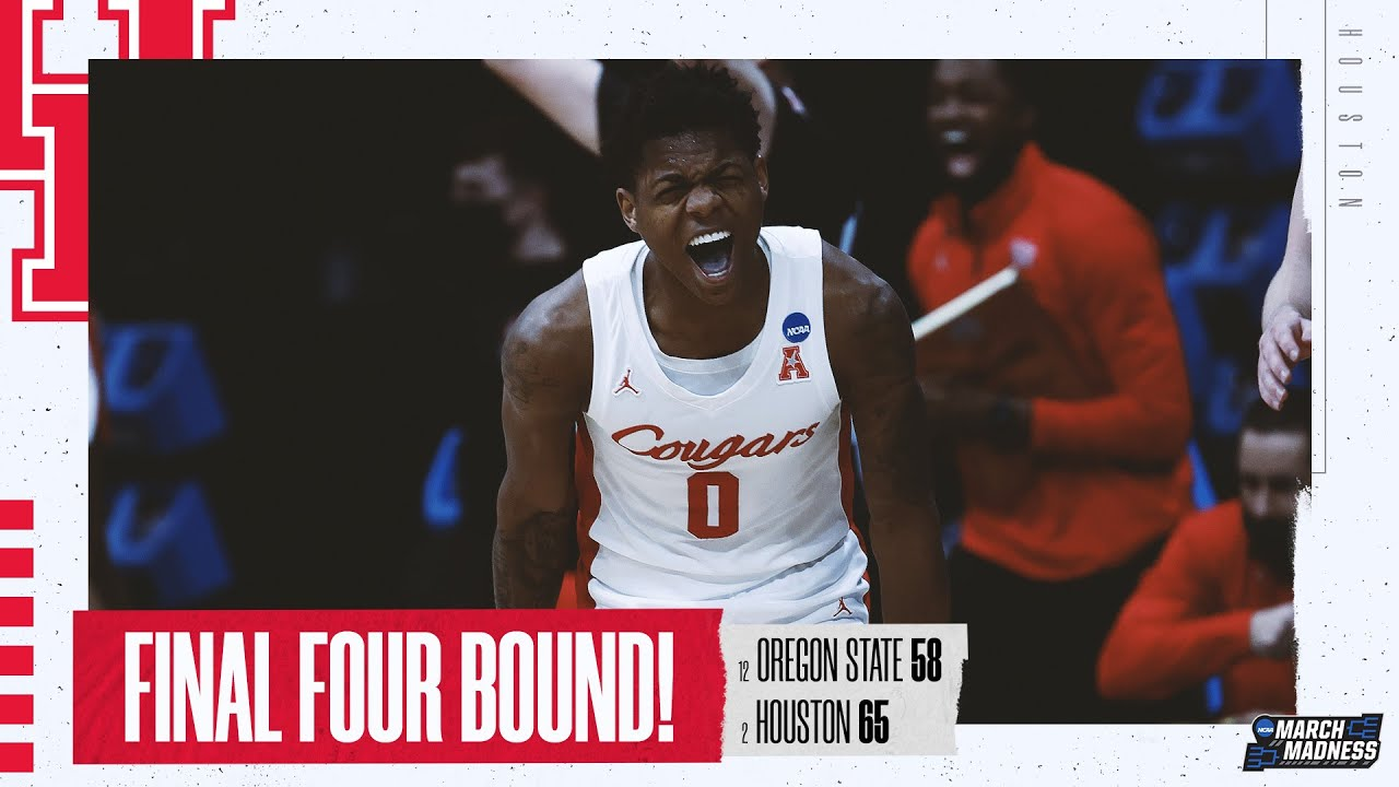 Houston vs. Oregon State - Elite Eight NCAA tournament extended highlights
