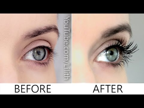 a5e2157e5cb How to grow lashes naturally ✿ DIY for longer, thicker, fuller ...