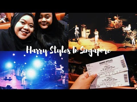 Harry Styles In Singapore | #EnaaVlogs