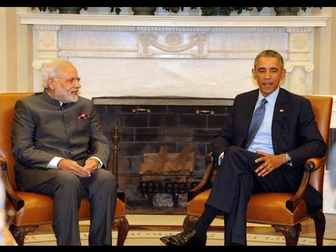 Barack Obama and Narendra Modi - Joint Briefing from White House