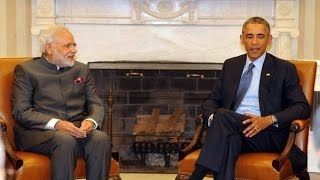 barack obama and narendra modi joint briefing from white house