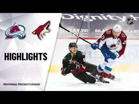 Avalanche @ Coyotes 2/26/21 | NHL Highlights