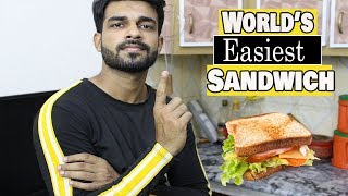 World's Easiest Sandwich | Cooking for Men | LifeStyle