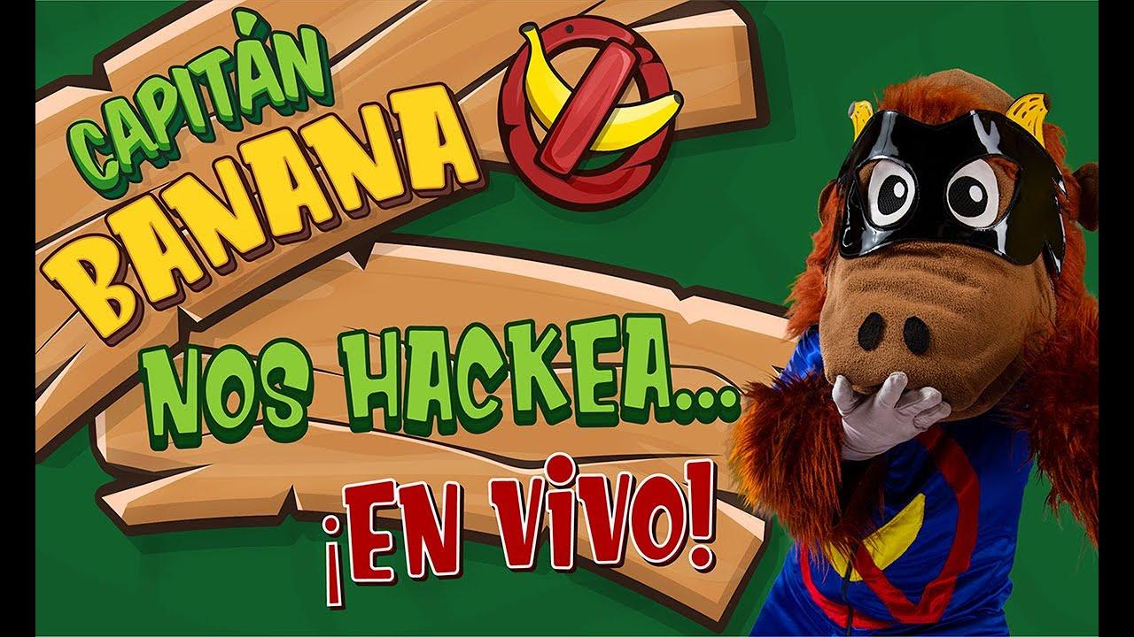 Capitán Banana nos hackea... ¡EN VIVO! - Tiempo Mágico