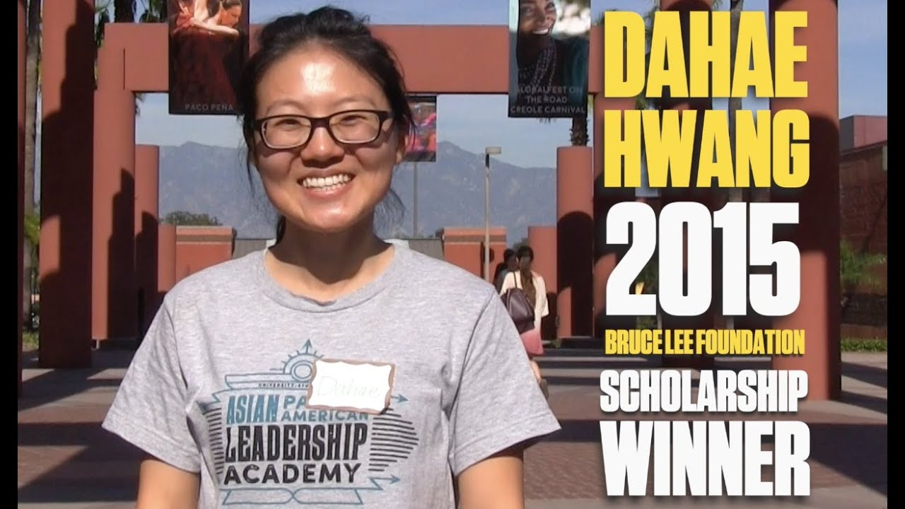 2015 Bruce Lee Foundation Scholarship Winner - Dahae Hwang