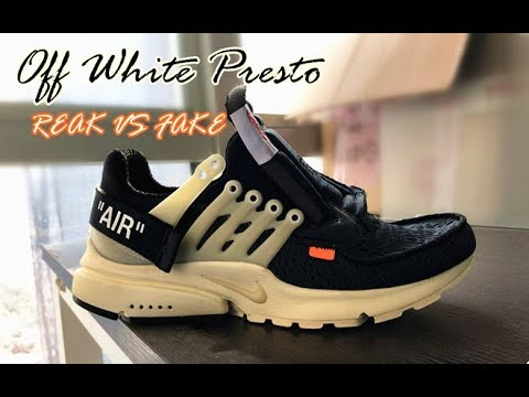 aee52b70112 Off White Nike Presto Shoes review & Real With Best fake comparsion