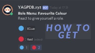 How to get reaction roles on Discord (Easy and Simple!) - Discord Tutorial