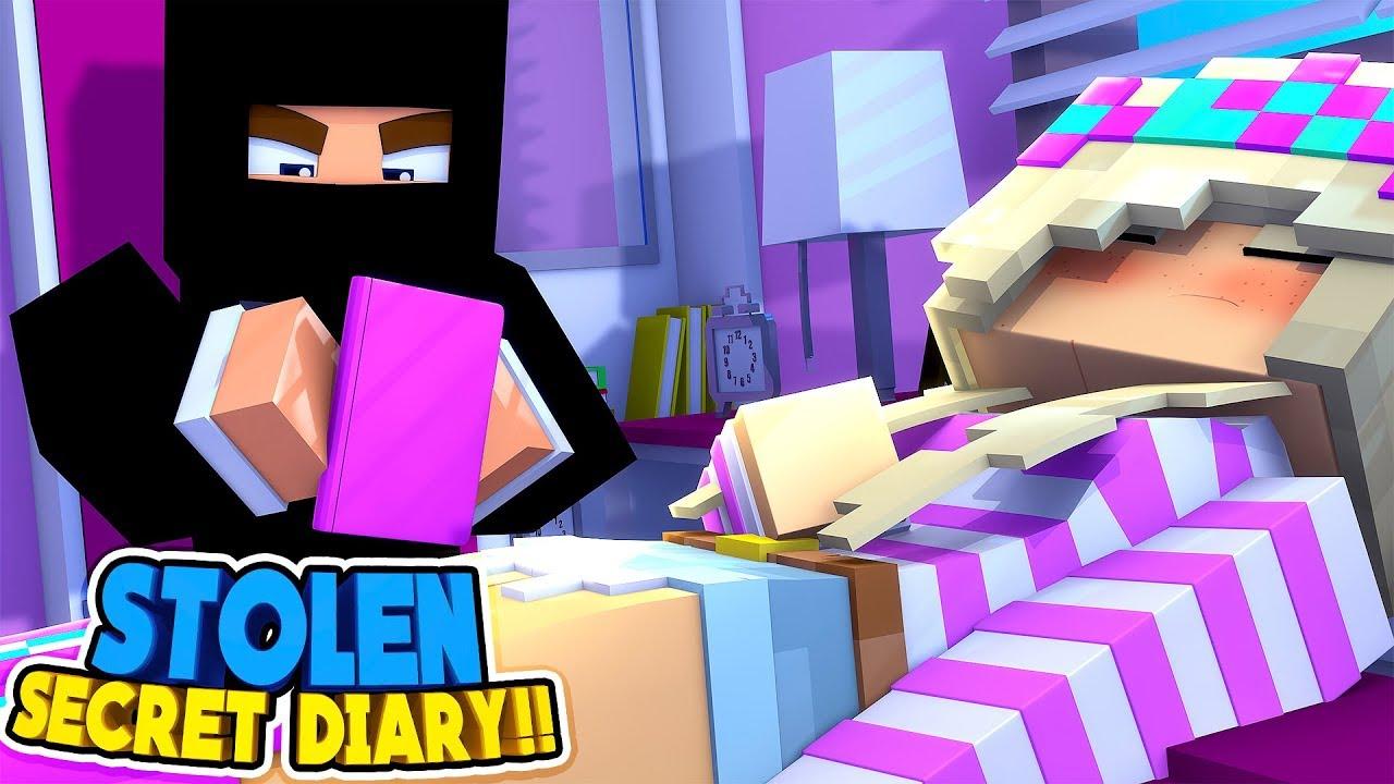 Download Minecraft WHO STOLE LITTLE LEAH'S SECRET DIARY WITH HER DARKEST SECRET???w/ LITTLE DONNY