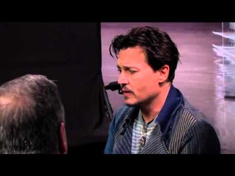 Johnny Depp- Transcendence interview (Gino at the Movies)