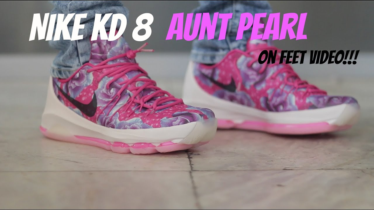 online store 4fda7 83205 new zealand nike kd 8 aunt pearl white gold 46bc2 032ed