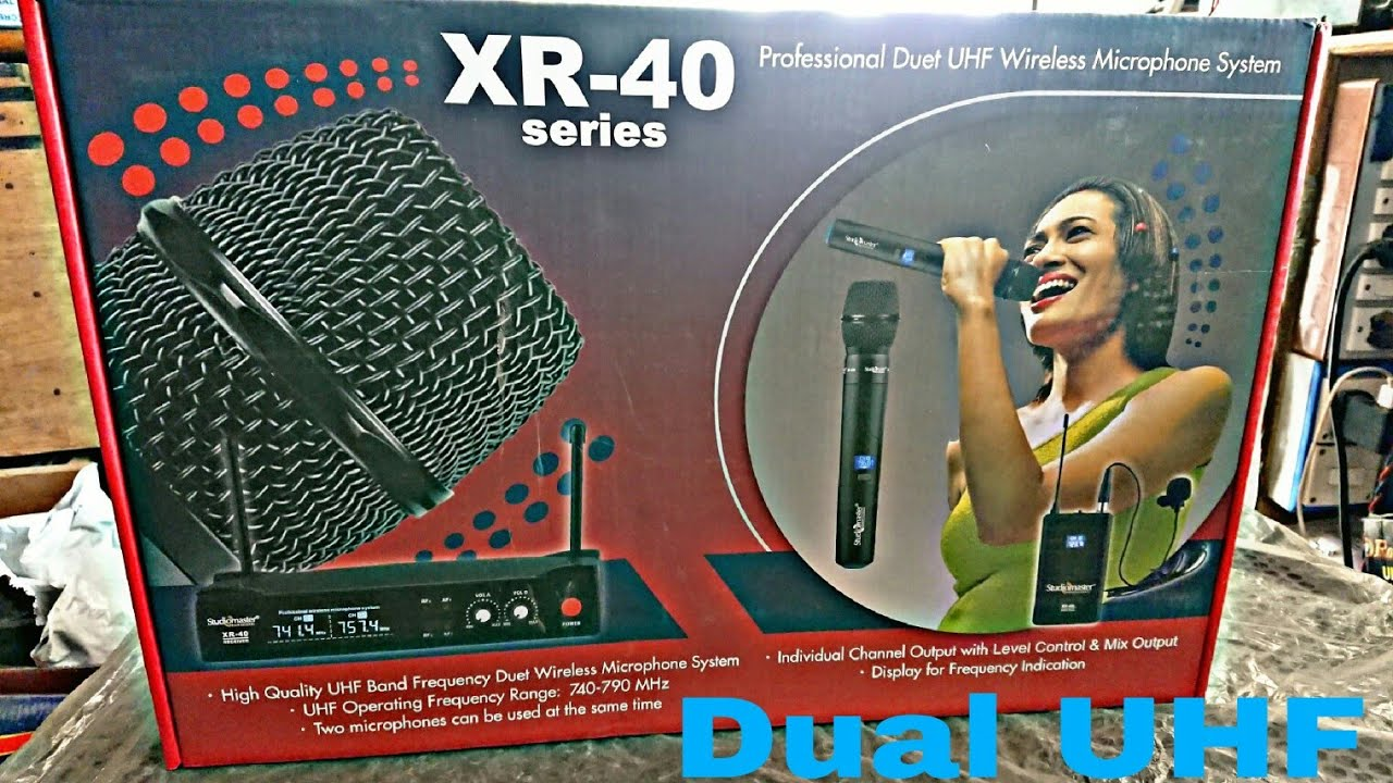 STUDIOMASTER XR 40 HH UNBOXING & REVIEW