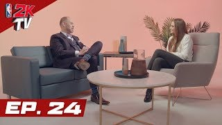 Ernie Johnson gets Personal & Jayson Tatum talks 2K Ratings! - NBA 2KTV S4. Ep.24