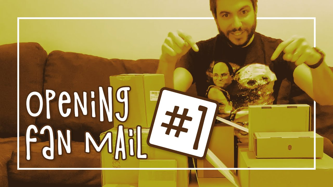 opening fan mail #1