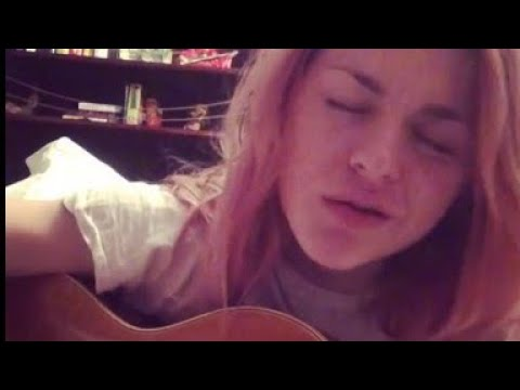 Frances Bean Cobain debut song