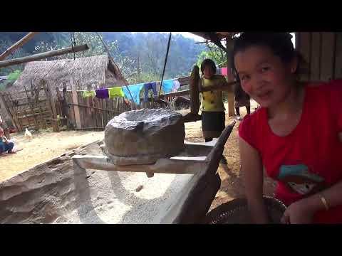 2019 Saib Hmoob Zos TojSiab, 2. Drone Fly Over Old Hmong Village.