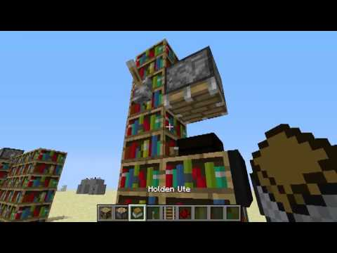 How To Make A Working Bookshelf In Minecraft