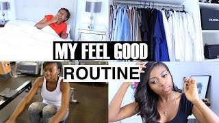 My Feel Good Weekend Routine| Workout, Snacks, Wardrobe Cleanse Deliciously Different ad