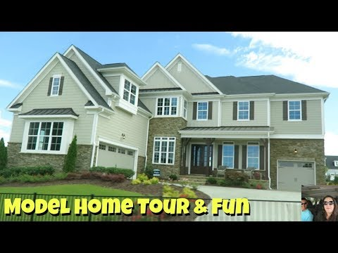 New House Tour & Paul Shows Off In The Model Home | PaulAndShannonsLife
