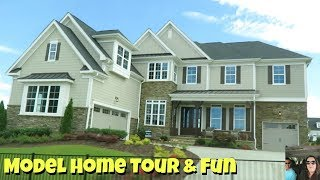 New House Tour & Paul Shows Off In The Model Home   PaulAndShannonsLife