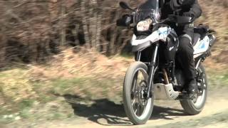 BMW F 650 GS Sertao 2012 sullo sterrato