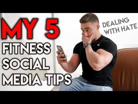 5 Social Media Tips | Teenage Bodybuilding