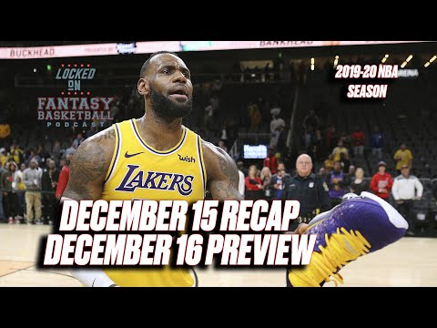 Dante Exum Lives || NBA Fantasy Basketball Recap from YouTube · Duration:  45 minutes 27 seconds