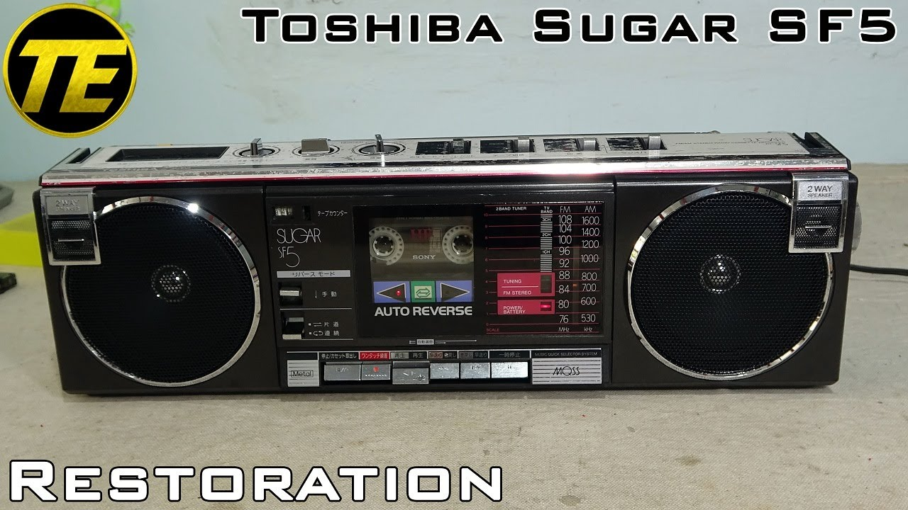 Toshiba Sugar RT-SF5 Restoration