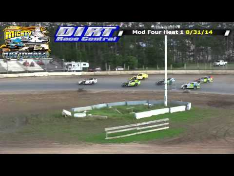 North Central Speedway 2014 Mighty Axe WISSOTA Mod Four Races Both Nights