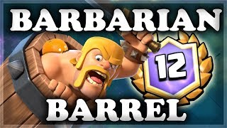 Barbarian Barrel Draft Challenge | Clash Royale 🍊