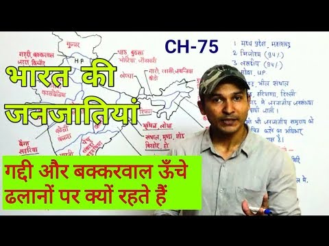 INDIAN TRIBES | Indian Geography FOR UPSC UPPCS SSC TET BANK PO RAILWAY EXAMS PREP. | CHAPTER-75