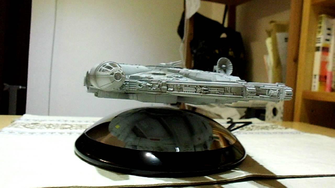 f002e965691 Star Wars Millennium Falcon Levitating Levitation Device - YouTube
