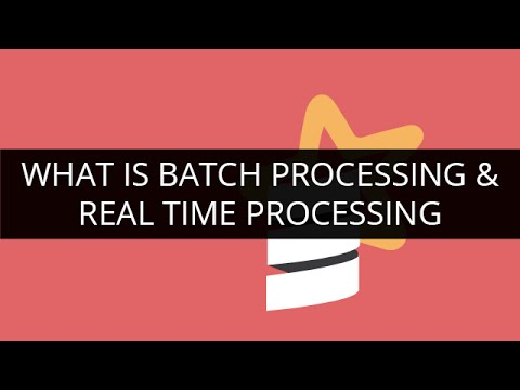 What is Batch processing and real-time Processing | Apache Spark Tutorial | Edureka
